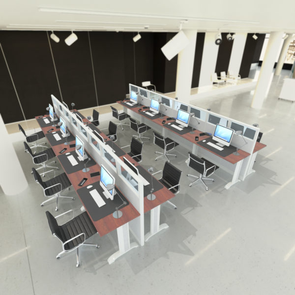U Shaped Office Workstations