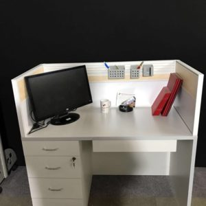 DESK MOUNTED SCREEN