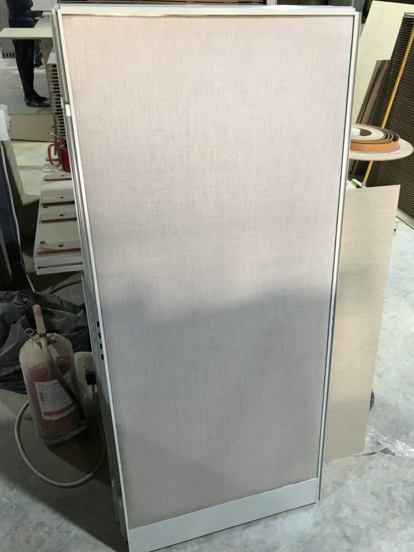 Cubicle Fabric Wrapped Panel