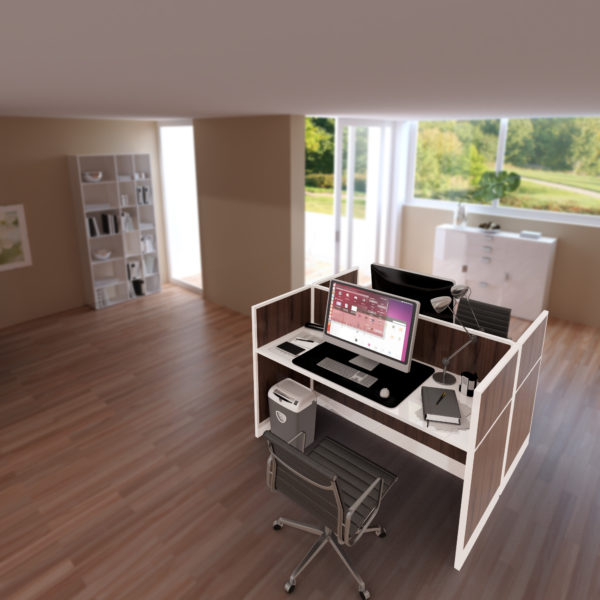Laminated Office Workstations