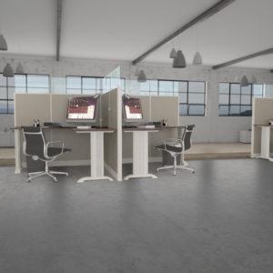 Glass Workstations